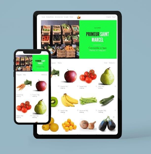 systeme click & collect commerce proximité